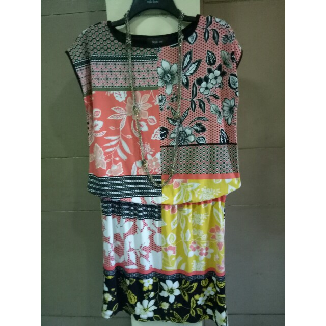 Printed stretchable dress Style and Co