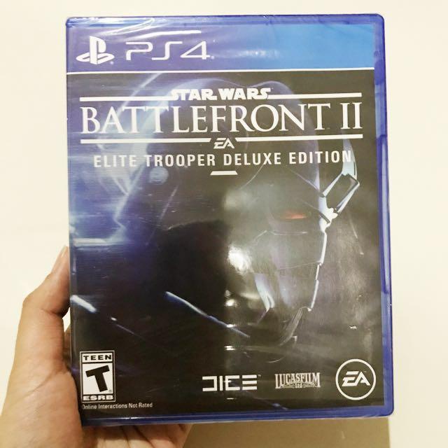 PS4 Star Wars Battlefront II: Elite Trooper Deluxe Edition