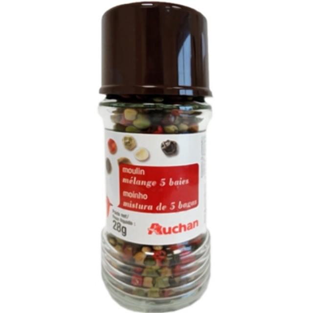 (in stock)Rainbow Peppercorns Mix Mill 28g