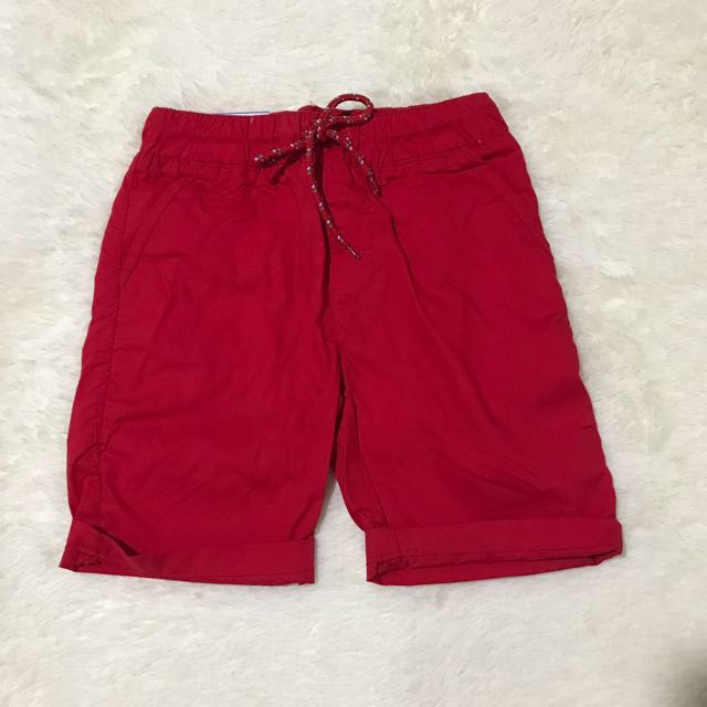 Red Walking Shorts For Toddler Size 4T