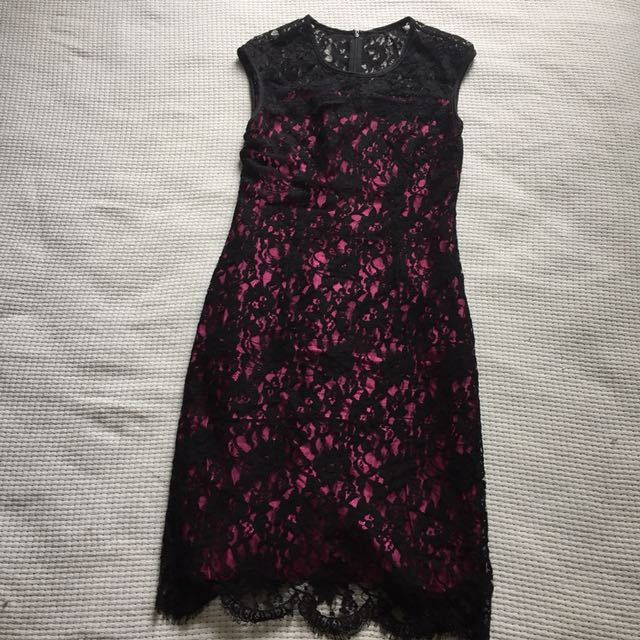 Reiss UK lace dress Uk 10 fits 8/10