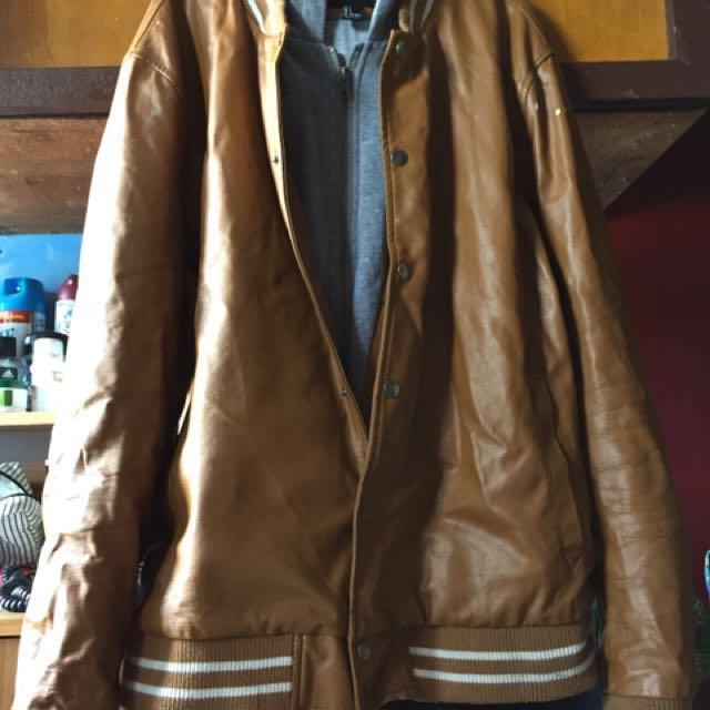 Repriced: F21 Brown Leather Jacket