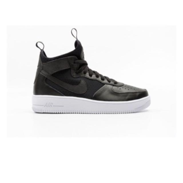 93146a1ee SALE] Nike AF1 Ultraforce MID Shoes for Men (Black), Men's Fashion ...