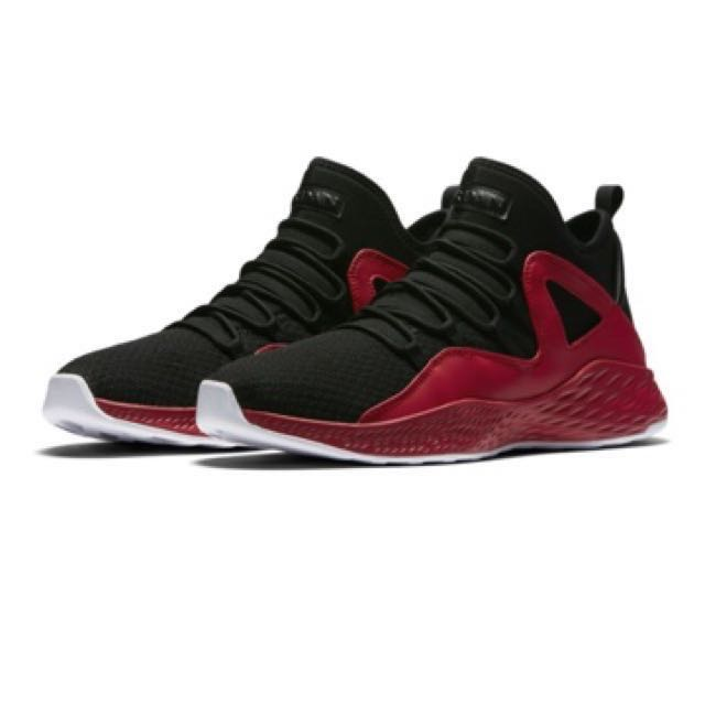 9fe57a5bd4c0 SALE  Nike Jordan Formula 23 Basketball Shoes Men s (Black Red ...
