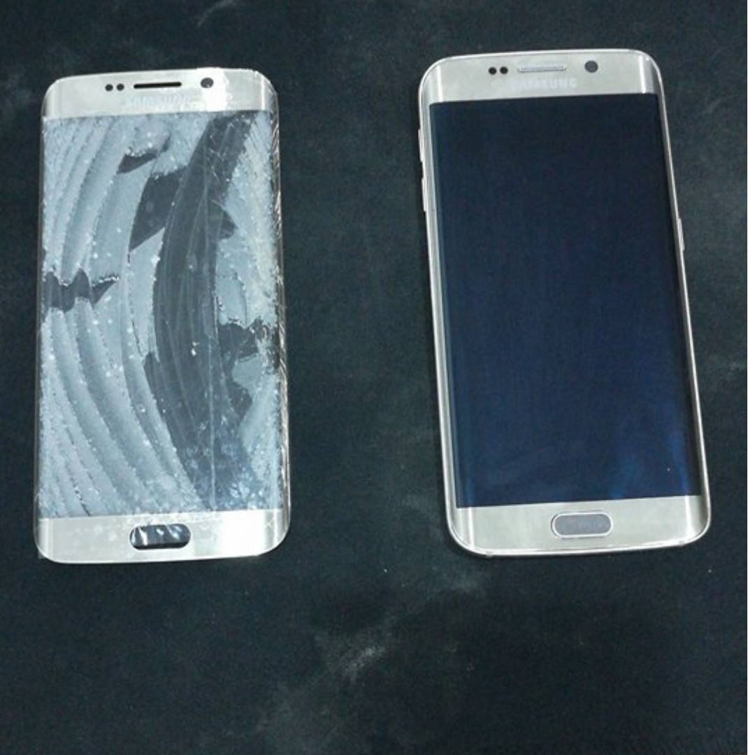 Samsung ALL model glass crack repair include EDGE