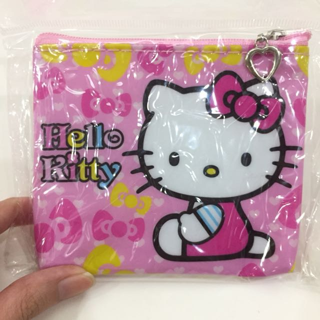 Sanrio Hello Kitty PVC Coin Wallet/Card Holder