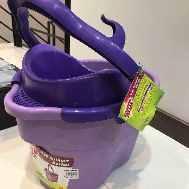 Scotch Brite Mop Wringer Bucket