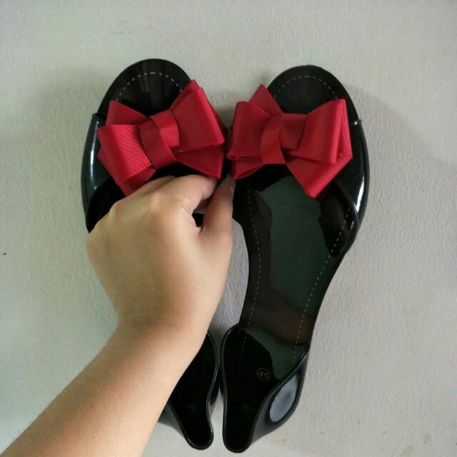 Sendal Flatshoes Jelly