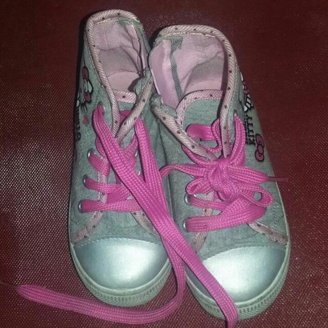 Sepatu Balita Keren Hello Kitty Boots