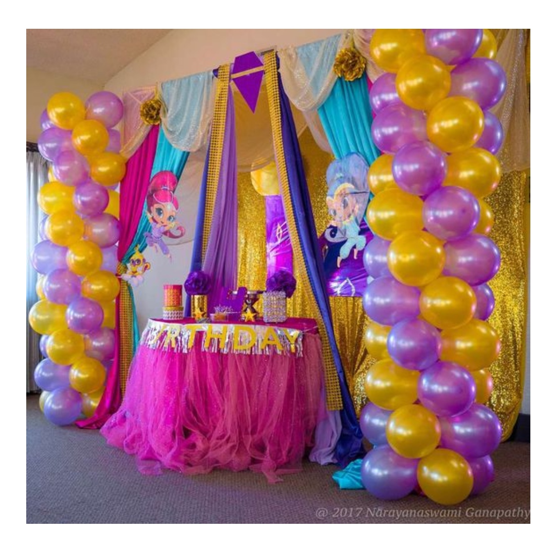 SHIMMER SHINE Themed Birthday Party Supplies Pls CHAT With Us For The Detailed Specific Product Listing Price We Have Wide Range Of Stocks Pre
