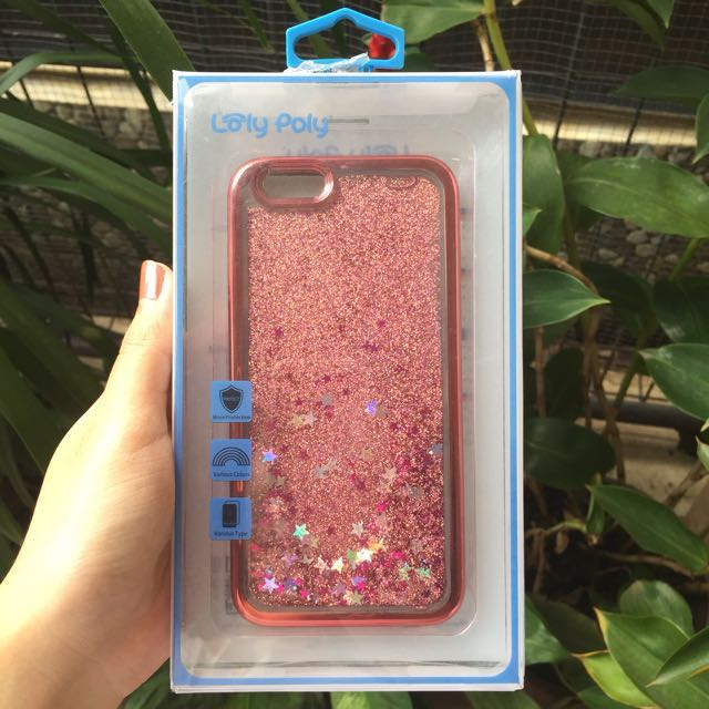 Sparkle Case For Iphone 6/6s By Loly Poly