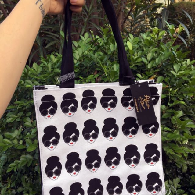 Starbucks Alice Olivia Tote Bag