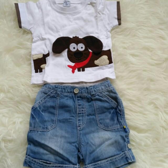 Take All 2pcs top n shorts
