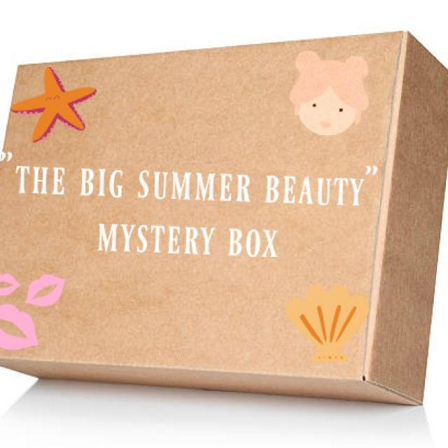 THE BIG SUMMER BEAUTY BOX