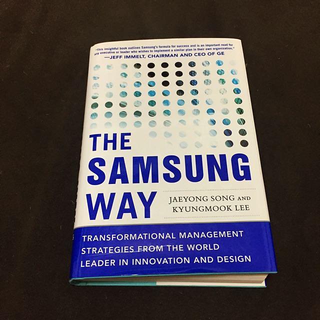 The Samsung Way - Song Lee (含運)