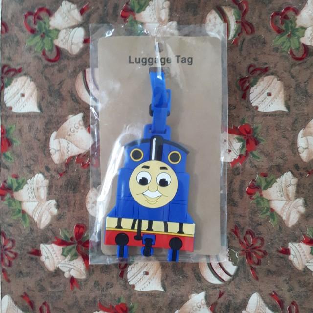 Thomas the Train Blue Luggage Tag