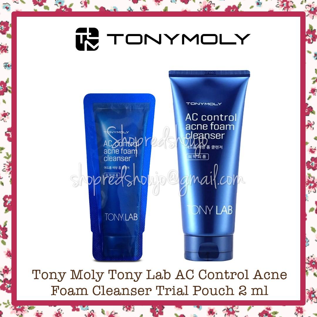 Tony Moly Tony Lab AC Control Acne Foam Cleanser