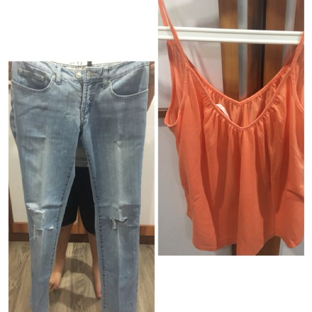 Tops njeans
