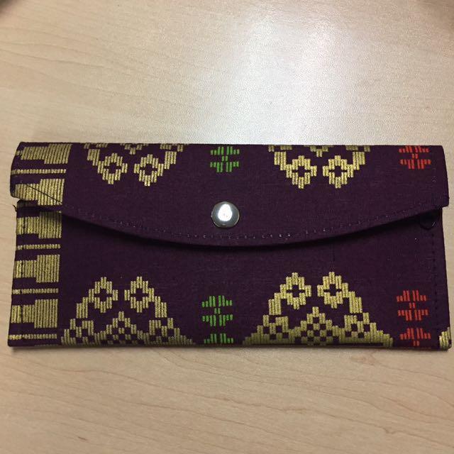 Tribal Print Wallet