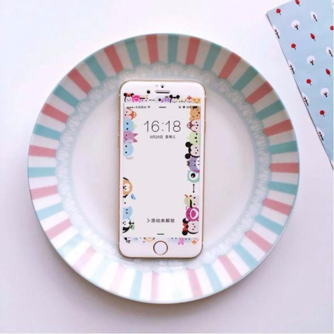 現貨+預購🏩可愛Tsum Tsum iPhone 鋼化玻璃膜 螢幕保護貼