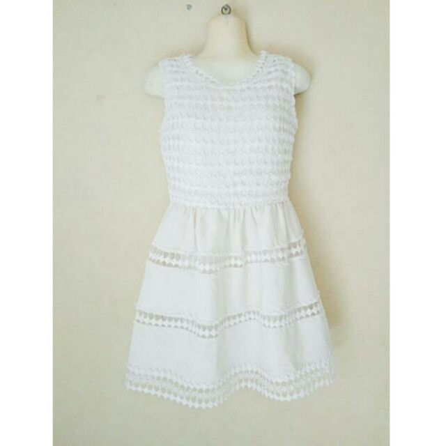 Unique White Dress