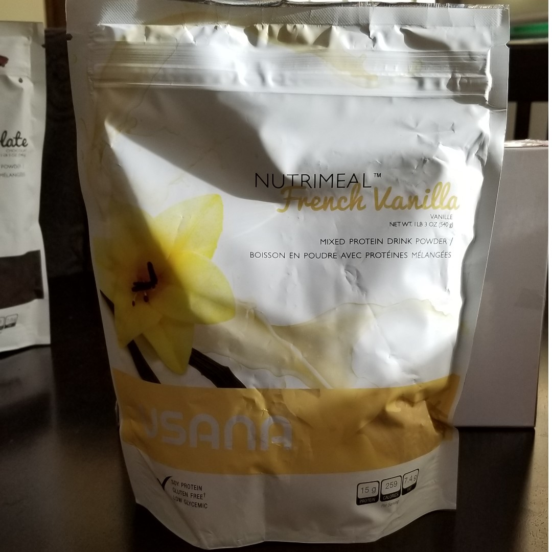USANA Nutrimeal French Vanilla, Protein Drink Mix