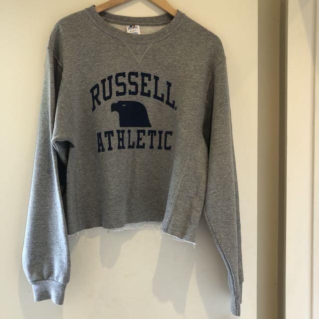 Vintage Russell Athletic Crop Crew