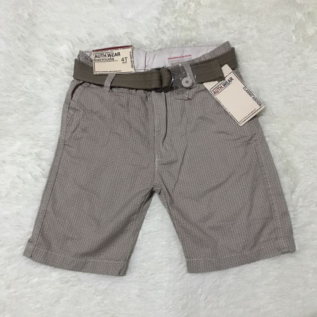Walking Shorts Size 4T