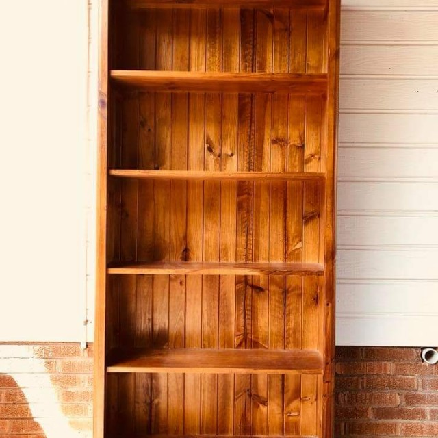 Wooden Bookcase / Shelves