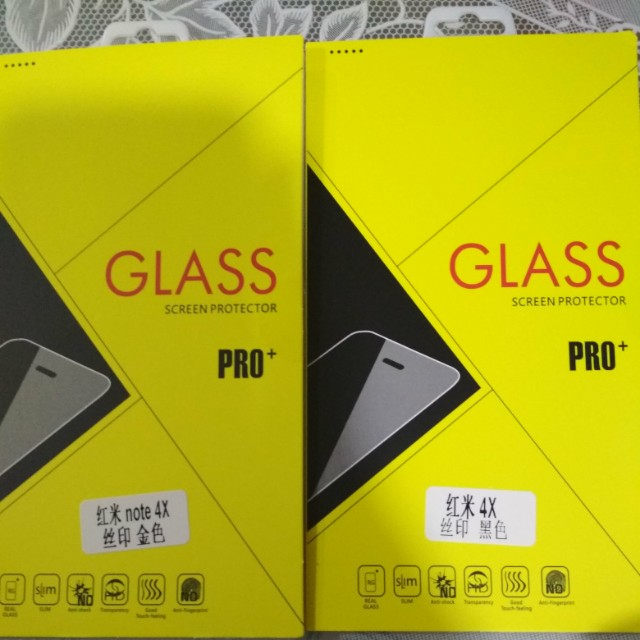 Xiaomi 4X Note Tempered Glass Screen Protector