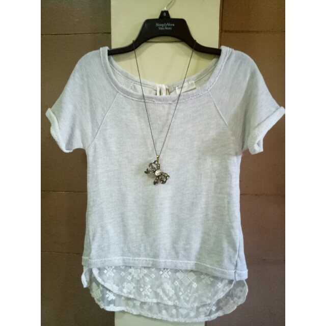 Zara cotton blouse