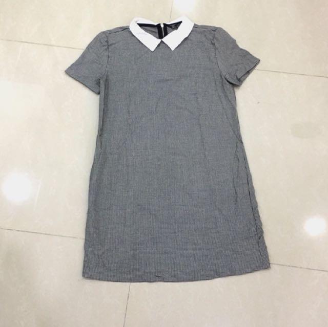 Zara Houndstooth Dress
