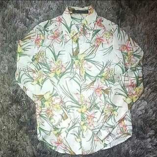 Zara garden shirt