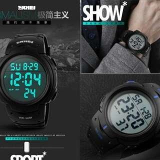 SKMEI Digital watch - black