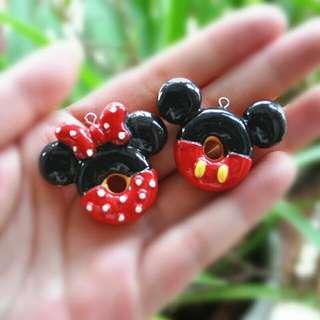 Mickey & Minnie Charms