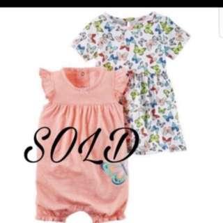 *24M* Brand New Carter's Dress For Baby Girl