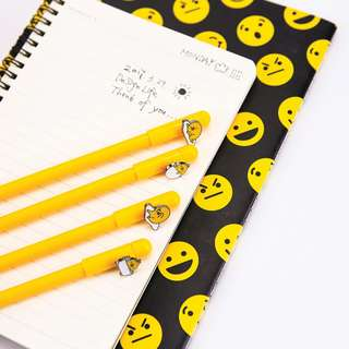 Yellow Gudetama Gel Ink Pen
