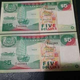 Singapore z1$5
