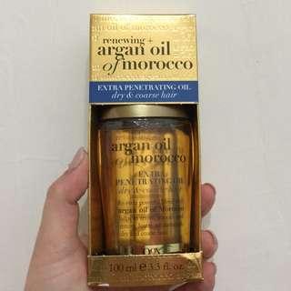 🚚 摩洛哥榛果護髮油OGX Penetrating Extra Strength Hair Oil2