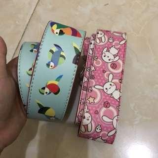 Strap bag bunny + bird dapat 2 ya