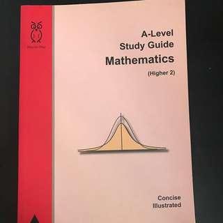 H2 Maths A level guide