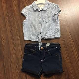 h&m set pants and cloths