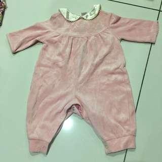 English style baby Sleepsuit