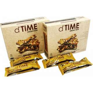D time energy bar boost twin pack diet food halal