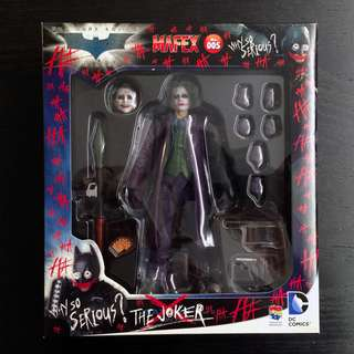 全新 未開封品 Mafex 小丑 JOKER The Dark Knight Batman shf