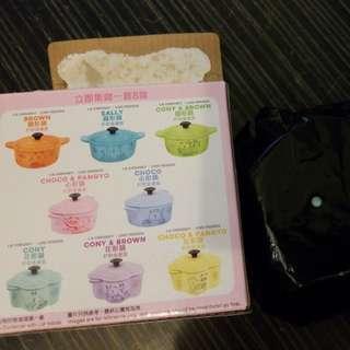 7-11 CONY 花形鍋鍋貯物盒 (#6)