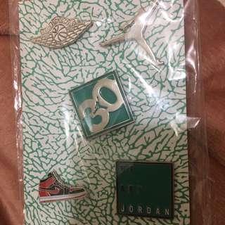 喬丹30週年全新紀念徽章