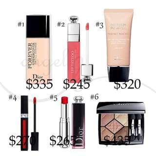 Dior lipstick foundation powder 代購