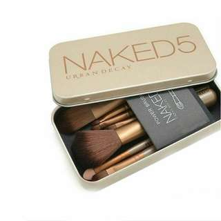 Kuas Make Up Brush Set Naked 5