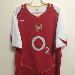 Arsenal Home 04/05 Jersey